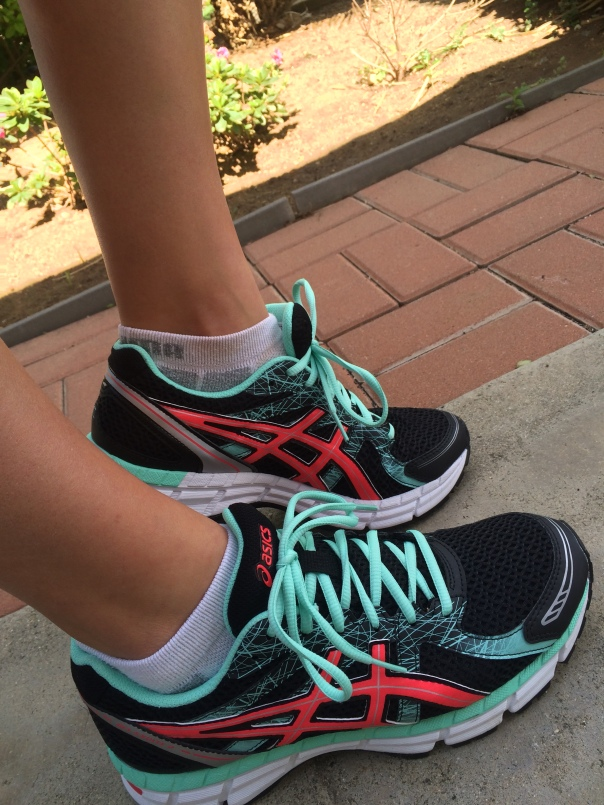 New Asics for marathon training at Strong Like My Coffee | Stronglikemycoffee.com