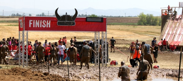 Warrior Dash Finish Line on Strong Like My Coffee at Stronglikemycoffee.com