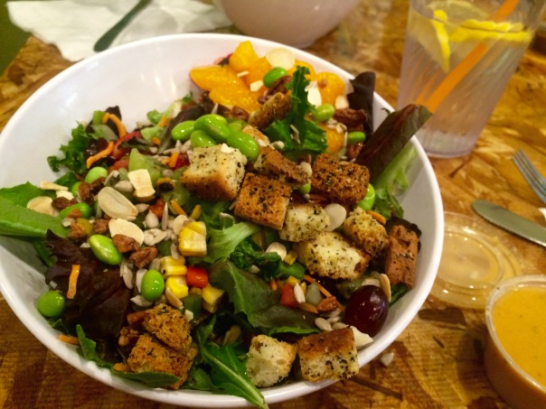 Salad from The Mix in Flagstaff | Stronglikemycoffee.com