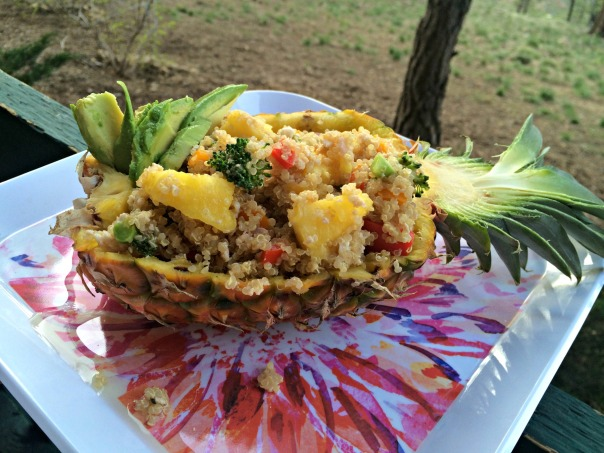 Stuffed Pineapple Boats healthy recipe  Strong Like My Coffee blog