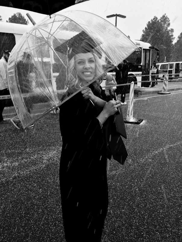 Graduating in the hail | Stronglikemycoffee.com
