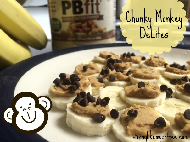 Healthy Frozen Dessert  Chunky Monkey DeLites  Stronglikemycoffee.com