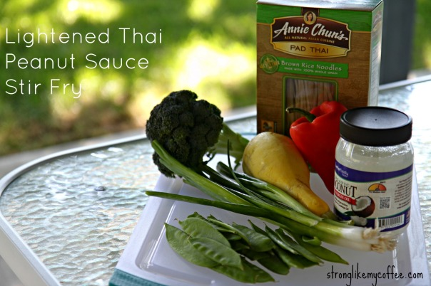 Lightened Thai Peanut Sauce Stir Fry Recipe  Stronglikemycoffee.com