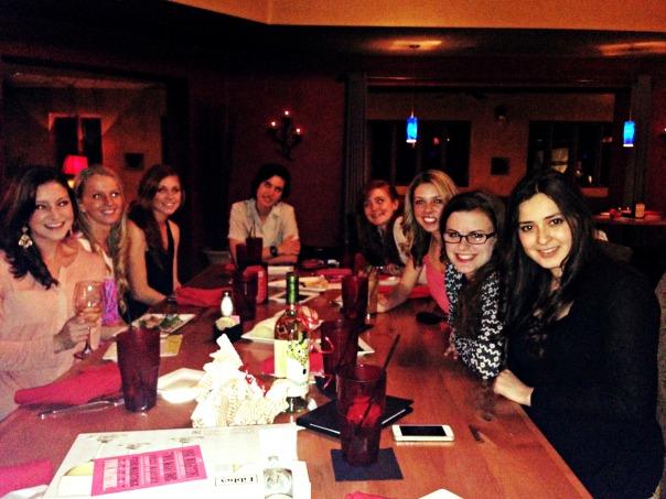 Taverna Birthday Dinner