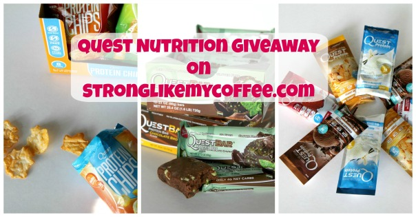 Quest Nutrition Giveaway on Stronglikemycoffee.com