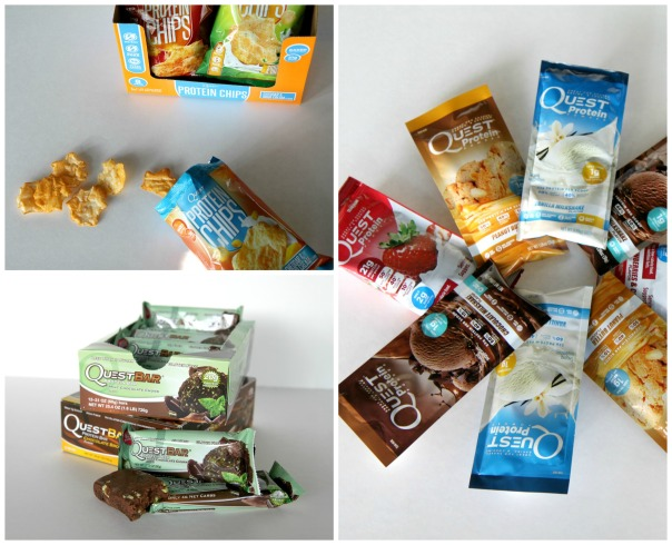 Quest Nutrition Giveaway  Protein Chips, Quest Bars and Quest Protein Powder  On the blog Stronglikemycoffee.com
