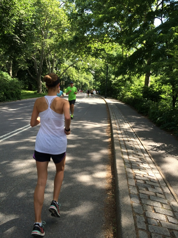 Running in Central Park (Stronglikemycoffee.com)