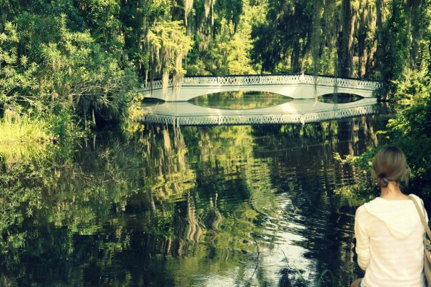 Long White Bridge at Magnolia Plantation (Stronglikemycoffee.com)