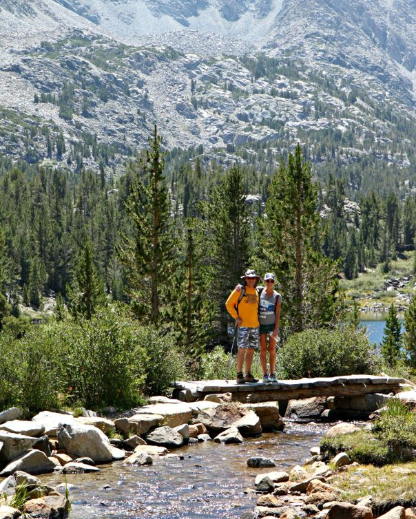 Hiking to Chickenfoot Lake Mammoth CA Stronglikemycoffee.com