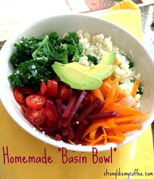 Homemade Basin Bowl Clean Eating Power Bowl Recipe Stronglikemycoffee.com