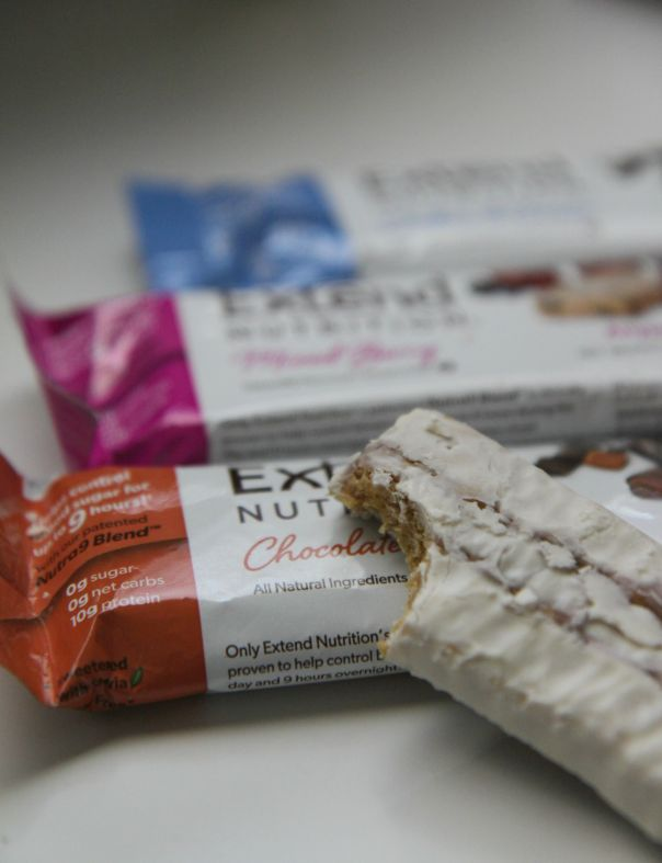 Extend Nutrition Anytime Bar Review on Stronglikemycoffee.com Blog