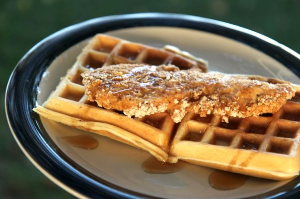 Homemade Chicken and Waffles for Dinner  Stronglikemycoffee.com