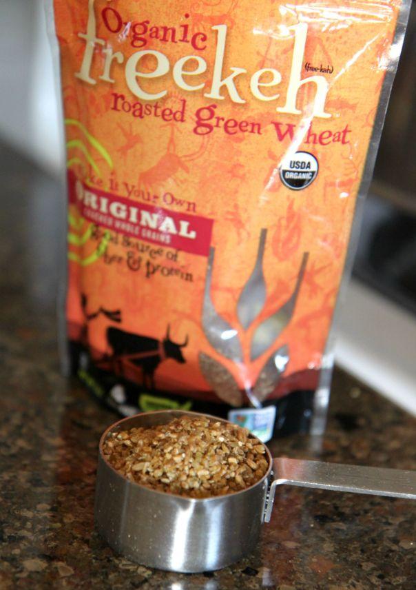 Organic Freekeh Recipe on Stronglikemycoffee.com