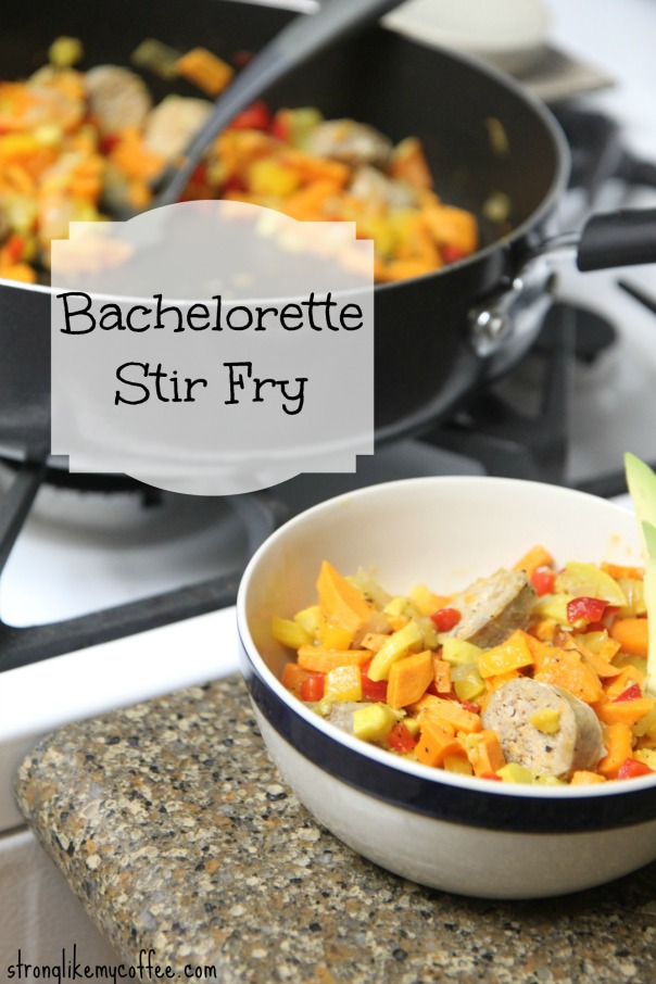 Bachelorette Stir Fry Recipe  AKA sweet potato hash  Stronglikmycoffee.com