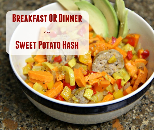 Sweet Potato Hash  Breakfast for Dinner  Stronglikemycoffee.com