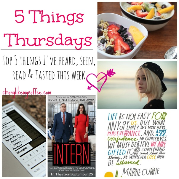 5 Things Thursdays IV