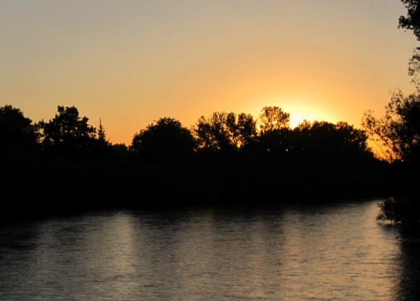 Boise River sunset (stronglikemycoffee.com)