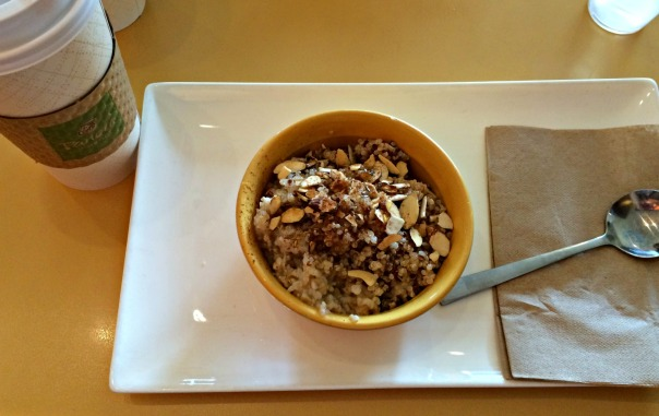 Girls Weekend Panera Oatmeal and Coffee stronglikemycoffee.com