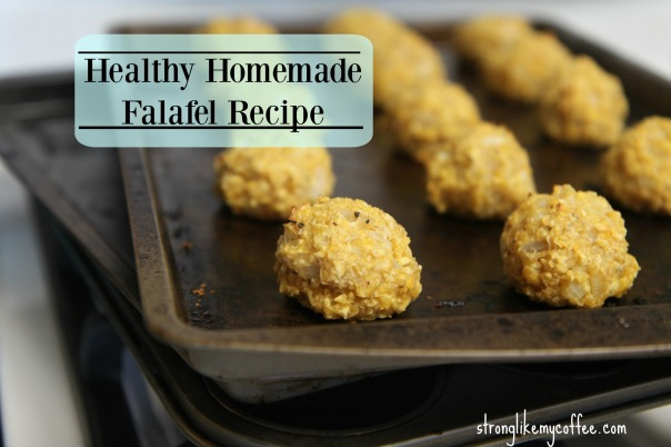 Healthy Homemade Falafel Recipe Stronglikemycoffee.com