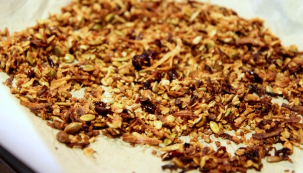 Homemade Toasted Coconut Granola Stronglikemycoffee.com