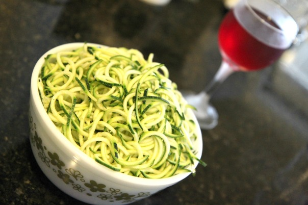 Zoodle Dinner Recipe Inspiration on Stronglikemycoffee.com