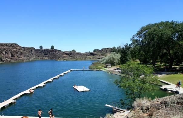 Shoshone Falls Dierkes Lake Idaho Trip Stronglikemycoffee.com