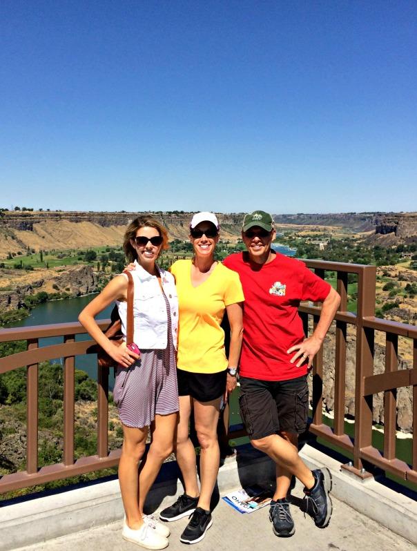 Shoshone Falls Idaho Family Trip Stronglikemycoffee.com