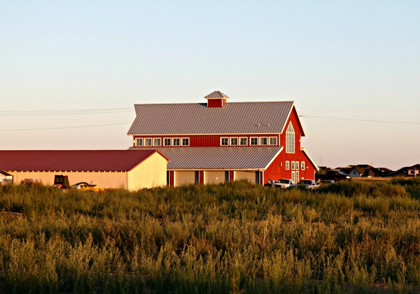 Rural Barn at Golden Hour Stronglikemycoffee.com